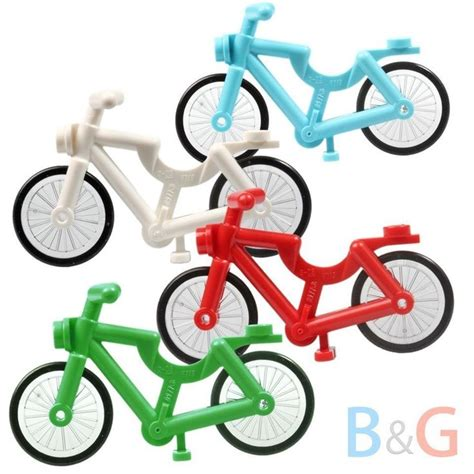 Lego Azure Bicycle lego bicycle with clear wheels and black tyres ref 4719c01 lego sets bicycles and medium