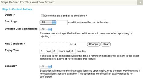 workflow steps workflow steps and conditions workflow schemas manuals
