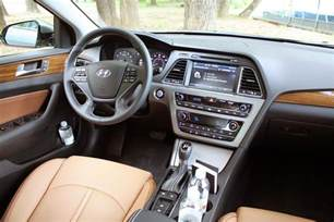 Hyundai Sonata Inside 2015 Hyundai Sonata Sport Review Digital Trends
