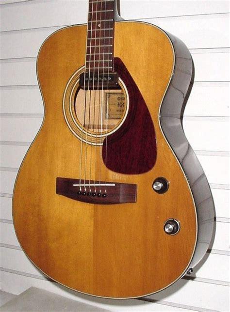 Gitar Akustik Elektrik Yamaha G 425 vintage yamaha fg 110e 1972 acoustic electric