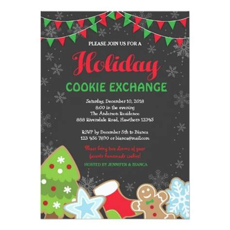 1000 images about cookie exchange invitations on