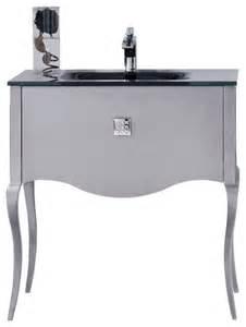 macral viena 32 quot bath vanity silver modern bathroom