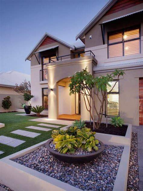 creative home front landscape design ideas