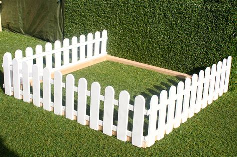 small fence plastic fencing lawn grass border path grave edging fancy small picket ebay