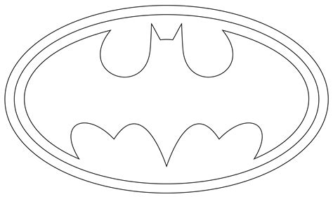 batman symbol template free printable batman coloring pages for