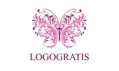 logo fiori logo farfalla stilizzata fiori logogratis