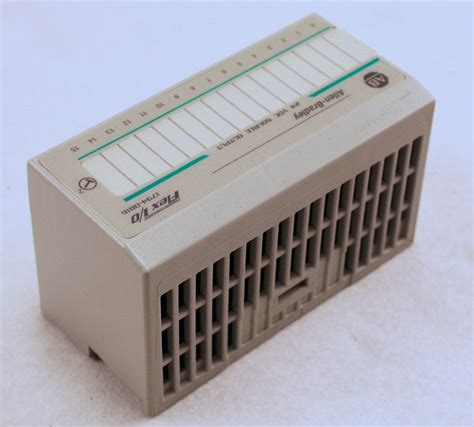 Allen Bradley 1794 Ob16 used allen bradley 1794 ob16 flex i o output module 96221875