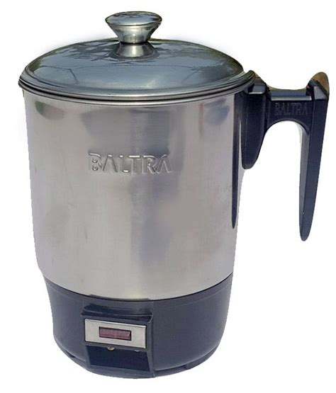 Elektric Heating Cup 13cm baltra 1 5 ltr heating cup 13 cm electric kettle price in india buy baltra 1 5 ltr heating cup
