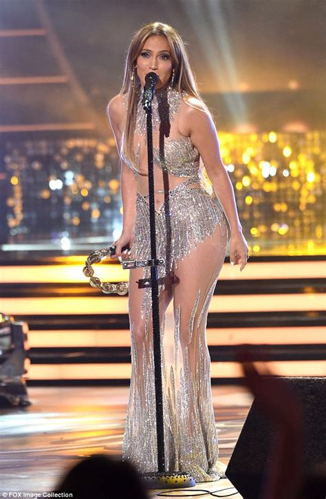 Jlo To Appear On Idol by Sparkles In Sheer Gown On American Idol