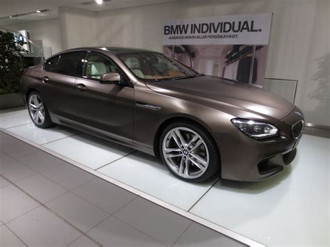 Individual M6   6 Series Gran Coupe: Frozen Red, Frozen