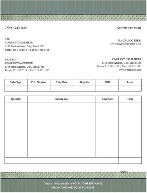 performa invoice template 100 free invoice templates word excel pdf formats