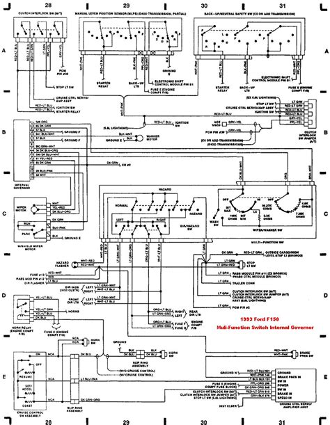 1993 ford f150 wiring diagram 1993 f150 headlight wiring diagram wiring diagram with