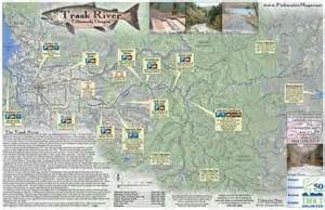 trask river tillamook or fly fishing map