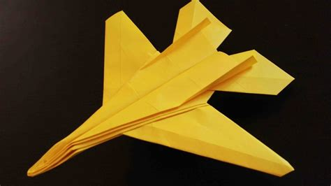 Origami F 14 - how to make an origami f14 tomcat fighter jet paper