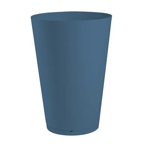 pot de fleurs tokyo 216 40 cm 38 l bleu denim 19338680 achat vente pot de fleur sur maginea