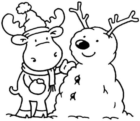 winter rabbit coloring page winter rabbit and snowman coloring pages winter