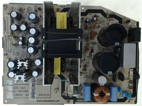 Samsung DLP TV Model HLR4266WX/XAA Power Supply Board Part ... Westinghouse Tv Parts