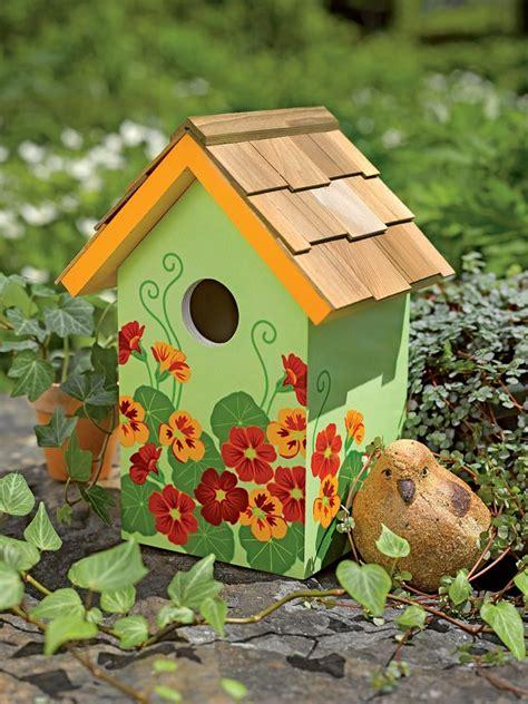 Top 25 Ideas About Painted Birdhouse Ideas On Pinterest Bird Ideas