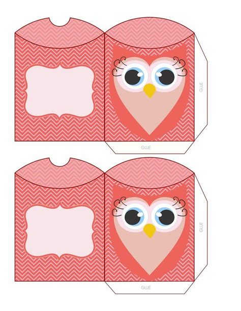 142 best images about box bag and tag printables on