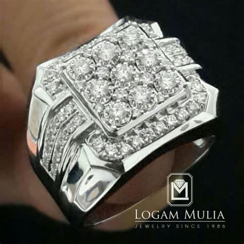 Kotak Cincin Dan Logam Mulia 1 jual cincin berlian pria dvmc rmf333c logammuliajewelry