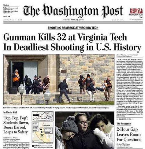 virginia tech massacre 2007 2007 a us shooting rage at the virginia tech university