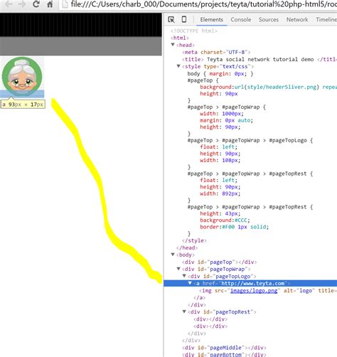 div element html html css div element not showing up as i expect