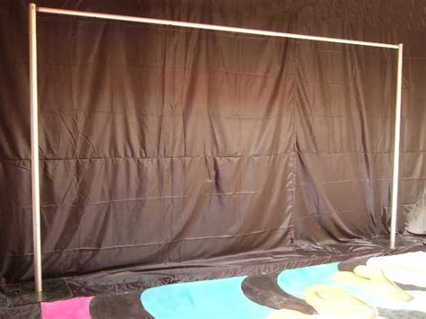 diy pipe and drape backdrop pipe n drape stand sysytem