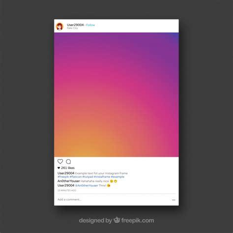 cornice gratis cornice instagram decorativa scaricare vettori gratis