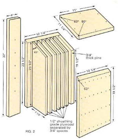 Bat Houses Plans 27 Bat House Plans Bat Nurseries Bat Rocket Boxes Bird Bat Boxes And More Bat House