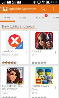 aptoide adalah 5 app store terbaik pengganti play store di nokia x series