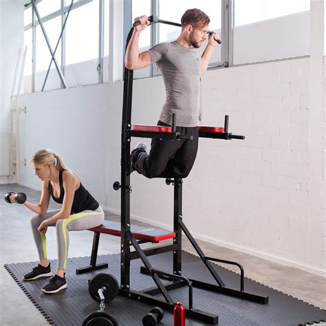 Station de musculation exercices banc multifonction dips