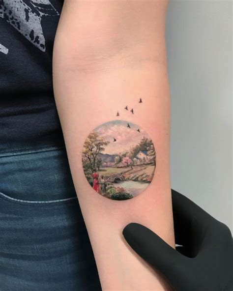 tumblr tattoos tattoos landscape