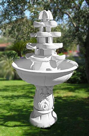 cascate da interno fnc23 b fontana da giardino niagara a cascate in cemento