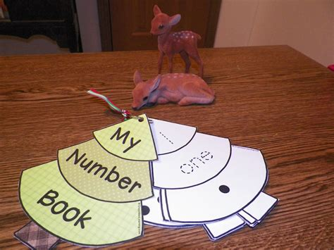 number craft for tree number ring book think crafts by