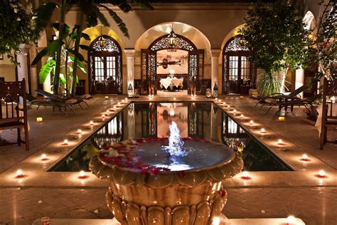 The Living Room Courtyard Cafe The Arms Hotel Luxury Riads Marrakech Travel Exploration Travel