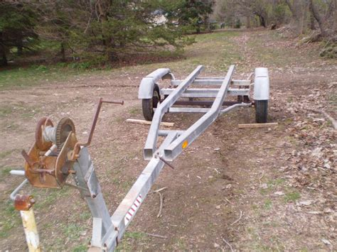 convert boat trailer to rollers converting a boat trailer to a utility trailer progress