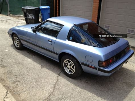 service manual 1984 mazda rx 7 ecm removal 1984 mazda rx 7 gsl se 5 speed manual 13b rotary