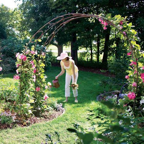 build  garden archway  family handyman