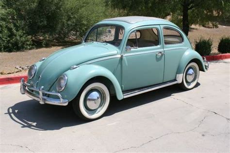 purchase used 1962 vw classic beetle ragtop time capsule all original paint engine trans ect