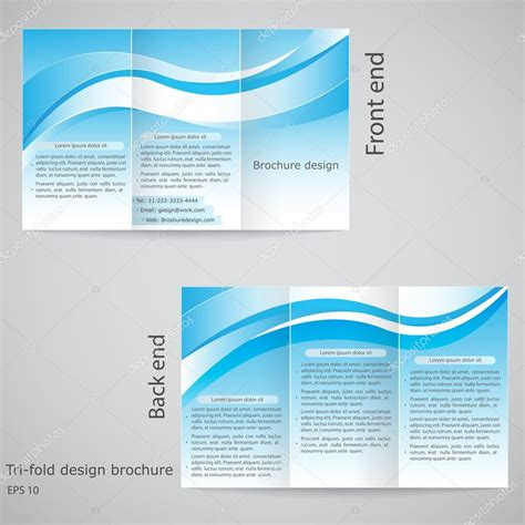 google docs tri fold brochure template best sles