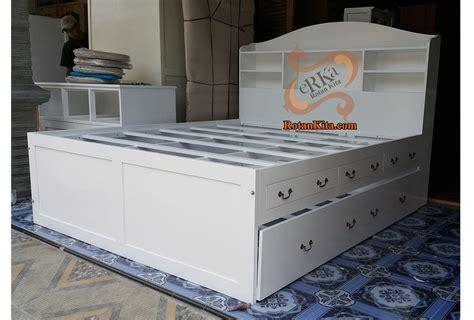 Nakas Duco Ivory Laci 6 Drawer Bufet Meja Makan Dipan Lemari Sofa bed code bed23 rotankita