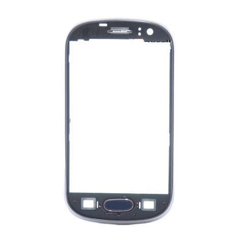 Lcd Samsung Galaxy S6810 S6812 Fame aro frontal lateral samsung fame s6810 s6812 grafite