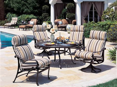 Patio Furniture Covers Tropitone Patio And Garden Furniture Radiance Cushion Tropitone
