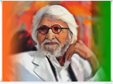 M F Hussain Sketches by Digital Painting Of M F Hussain By Aejaz Saiyed