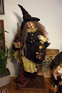 kim s klaus ooak handmade witch folk art doll antique