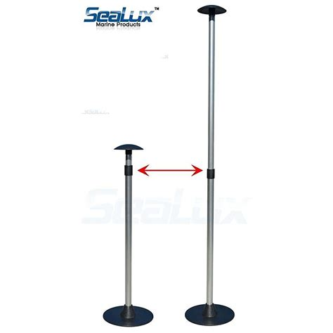boat cover support pole sealux 30 54 quot adjustable aluminum boat cover support pole