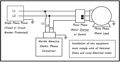 static phase converter wiring diagram wiring diagram schemes