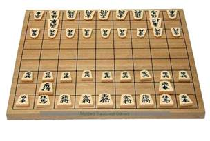 Wood Pool Table Shogi Japanese Chess Set Agathis Hinged Board