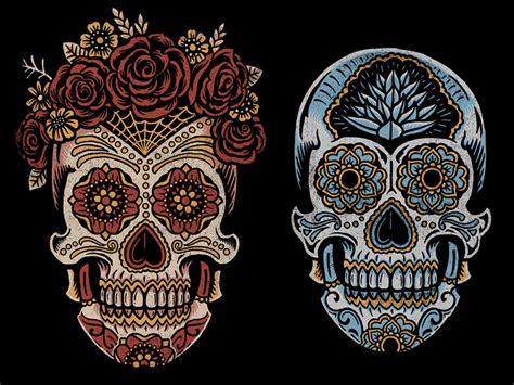 for sugar skull a 241 ejo sugar skulls by derrick castle dribbble