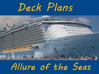 deck plan oasis of the seas   allure of the seas cruise